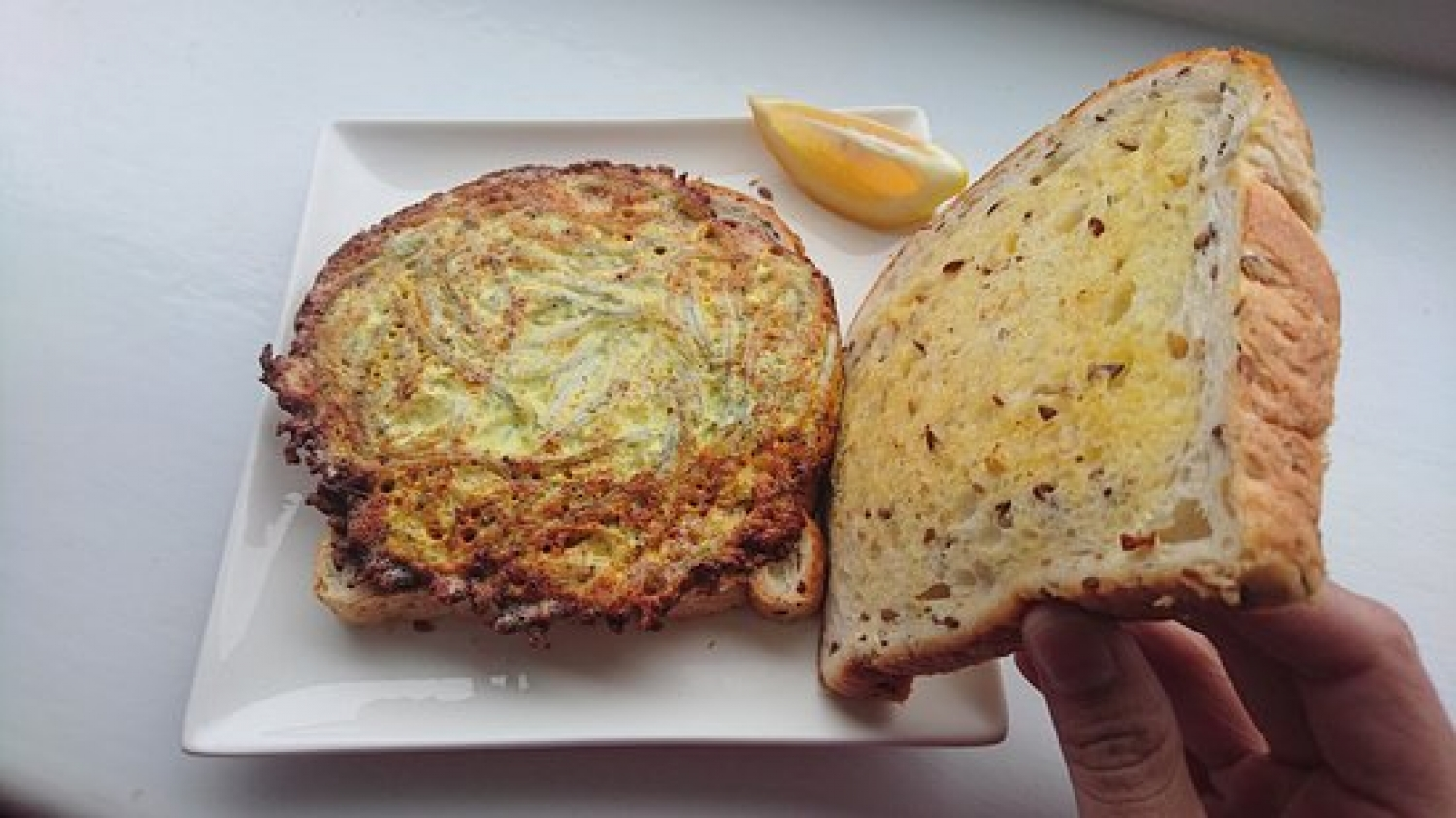 Dare you to try a Whitebait Sandwich