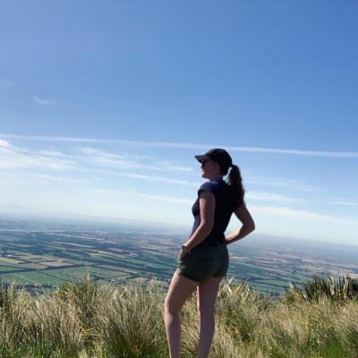 Katie - participant to New Zealand
